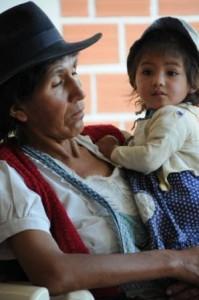 Madre e figlia, Bolivia. Credits: Oxfam Italia