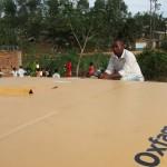 Congo, il lavoro di Oxfam sul campo per promuovere salute e igiene. Credits: Caroline Gluck/Oxfam