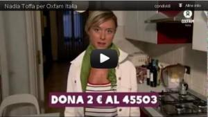 Nadia Toffa, una delle sei presentatrici e giornaliste che sostengono la nostra campagna nel suo videoclip