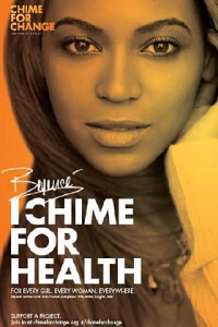 Beyonce per Chime for change