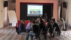 Durante il corso di formazione europeo per insegnanti ed educatori