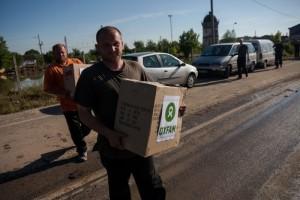 Posavina. Consegna kit igienici alla popolazione