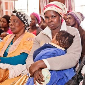 Beneficiarie di un programma Oxfam in Sudafrica