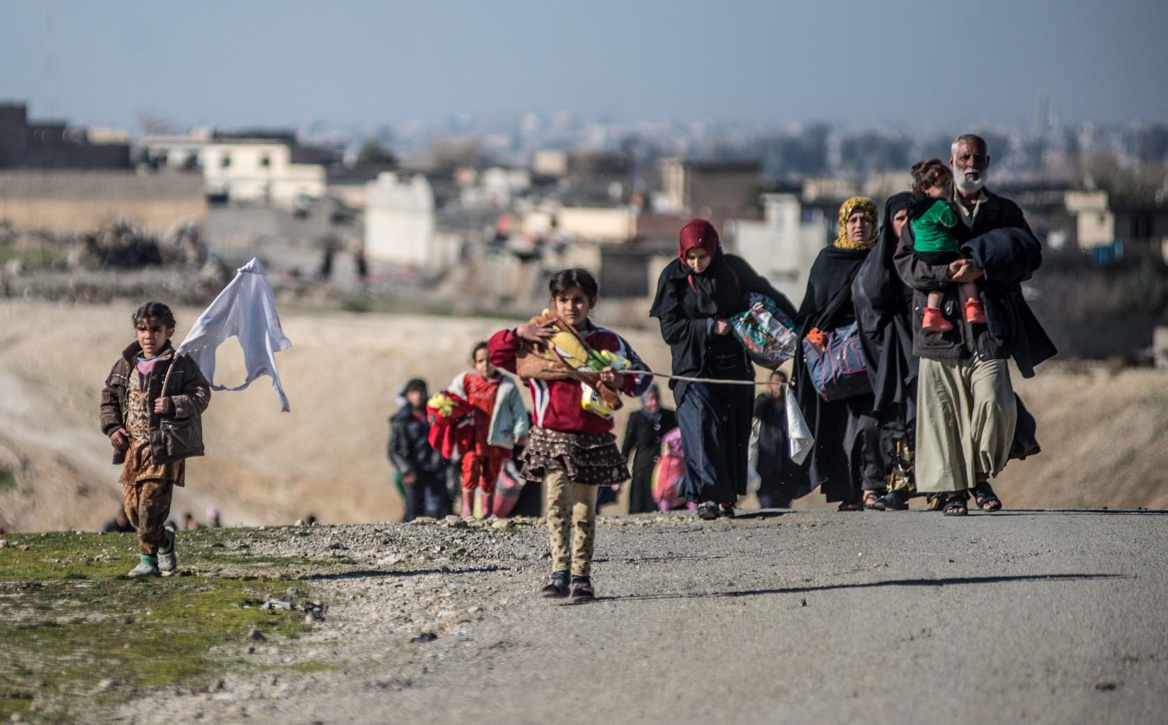 Più di 65 milioni di persone sono in fuga dai loro paesi
