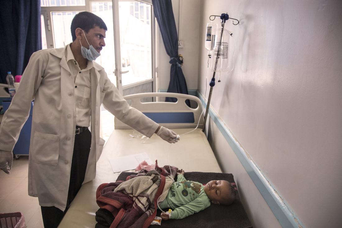 In Yemen il colera continua a uccidere
