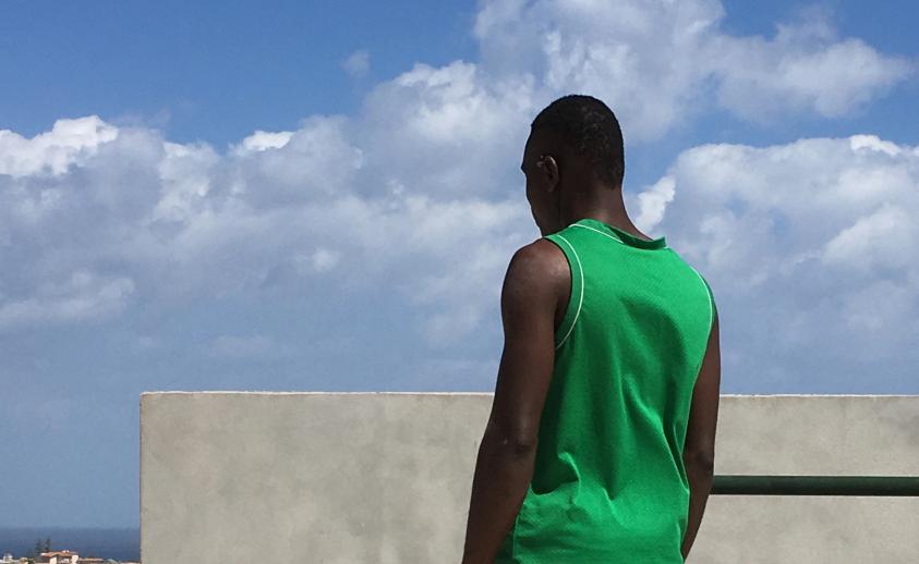 Anifane, arrivato dal Senegal e accolto nella struttura di Pachino