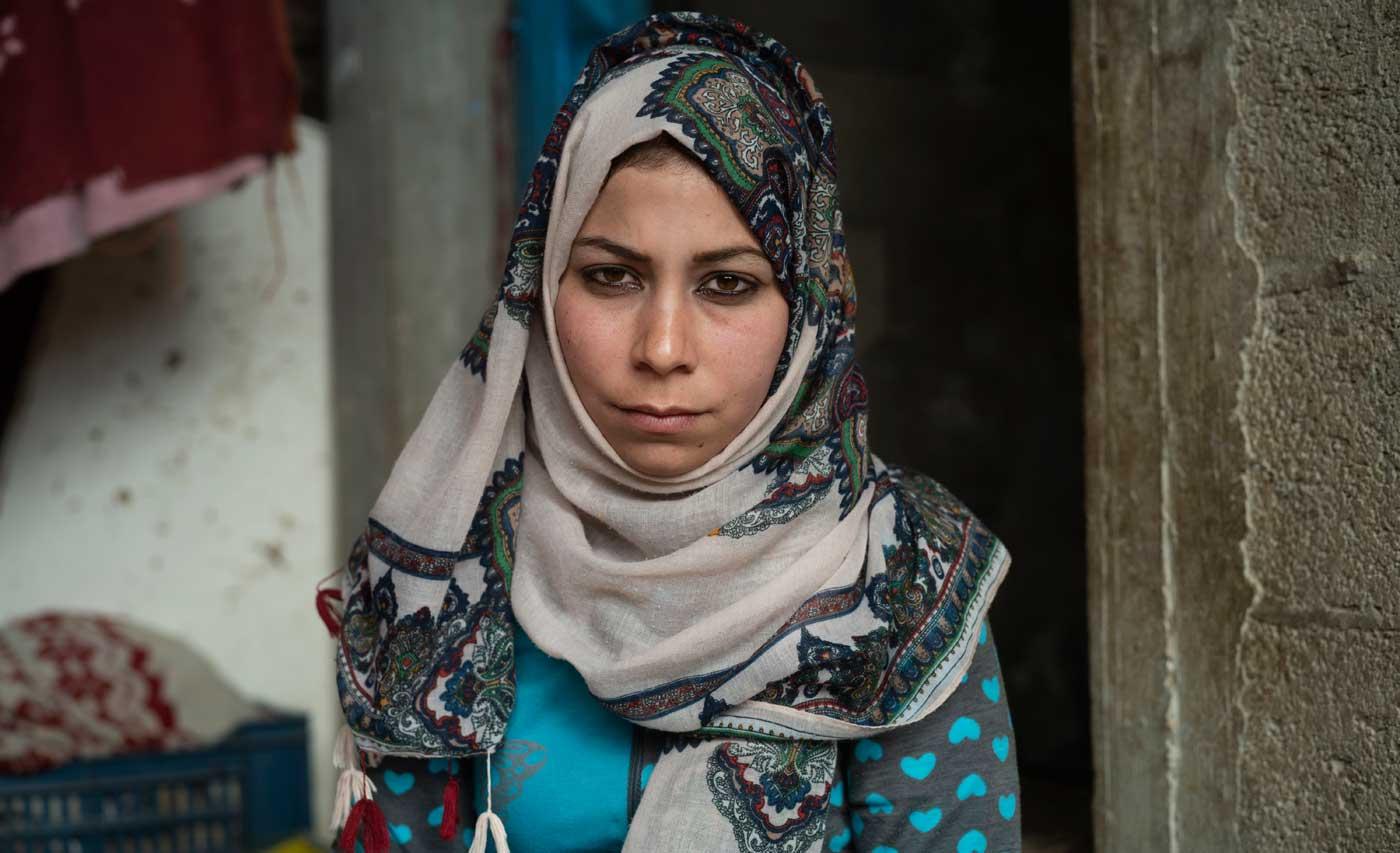 Dona a Eilaf e ai suoi bambini acqua pulita, a Gaza manca
